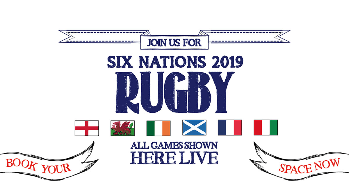 Watch the 6 Nations at The White Hart in London