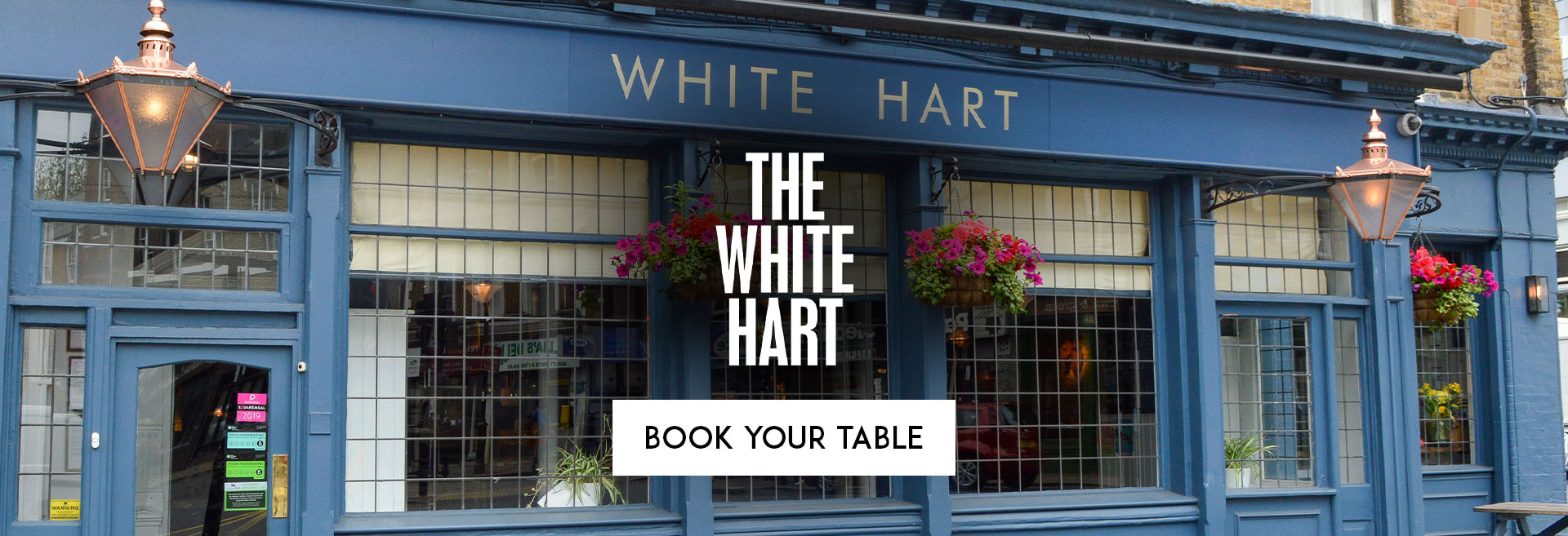 Book Your Table at The White Hart
